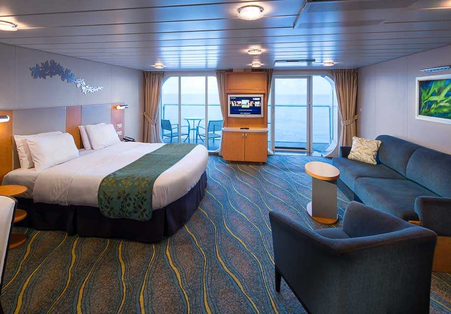 Family Ocean View Stateroom with Balcony Accessible