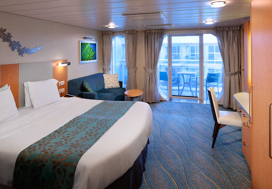 Boardwalk View Stateroom with Balcony Accessible
