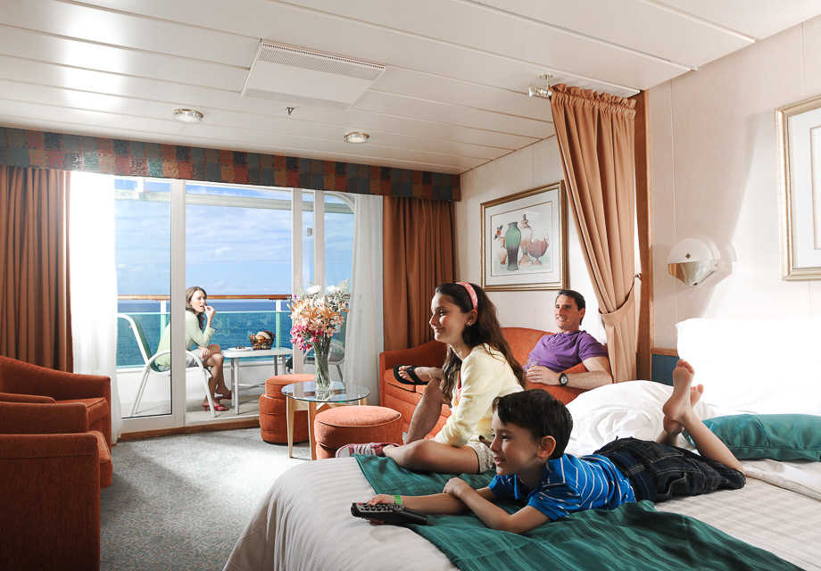 Family Junior Suite with Balcony