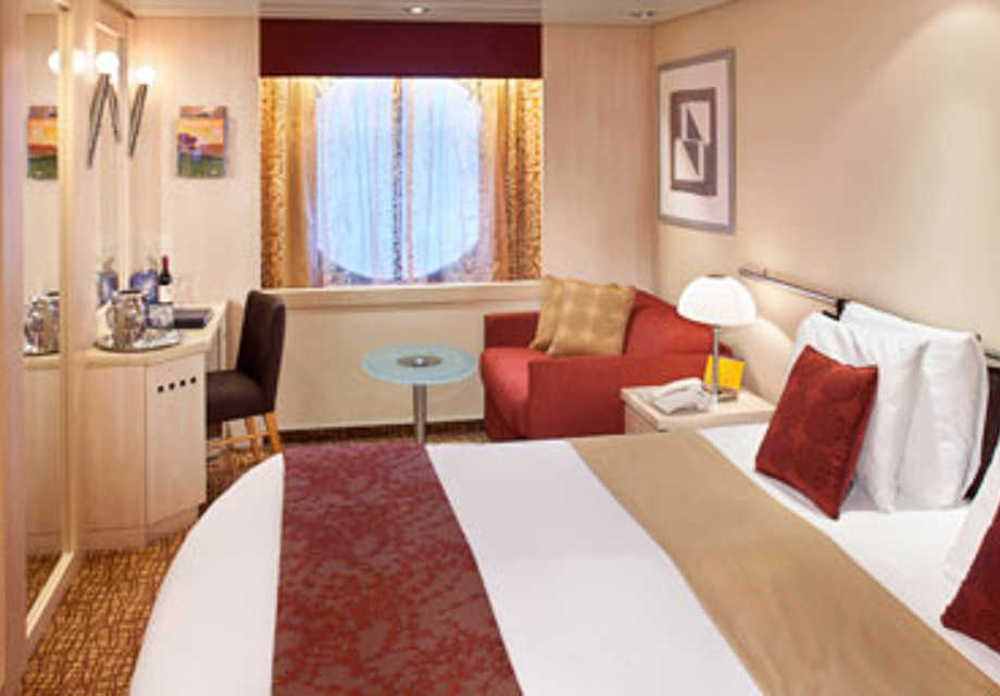 Celebrity Summit - Rooms - Ocean View Stateroom