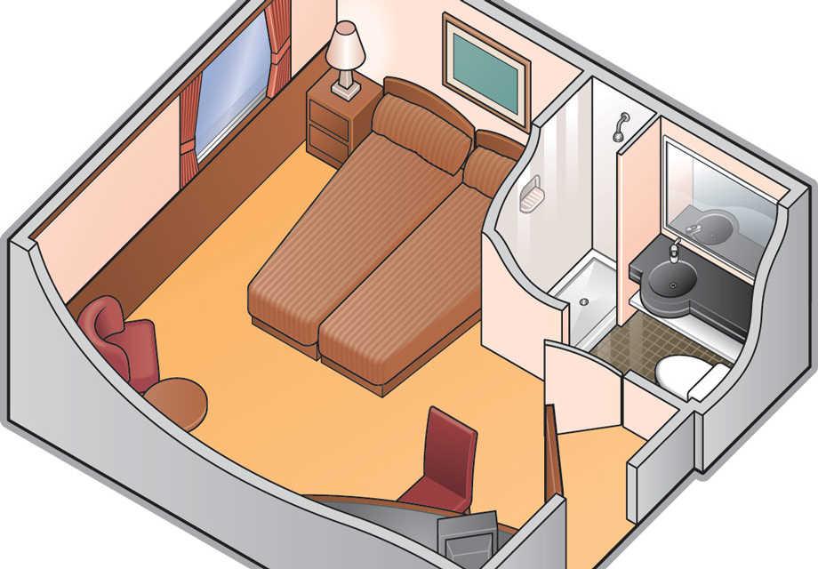 Premium Stateroom - Plan