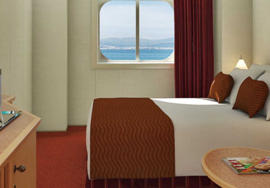 Carnival Dream - Rooms - Deluxe Oceanview