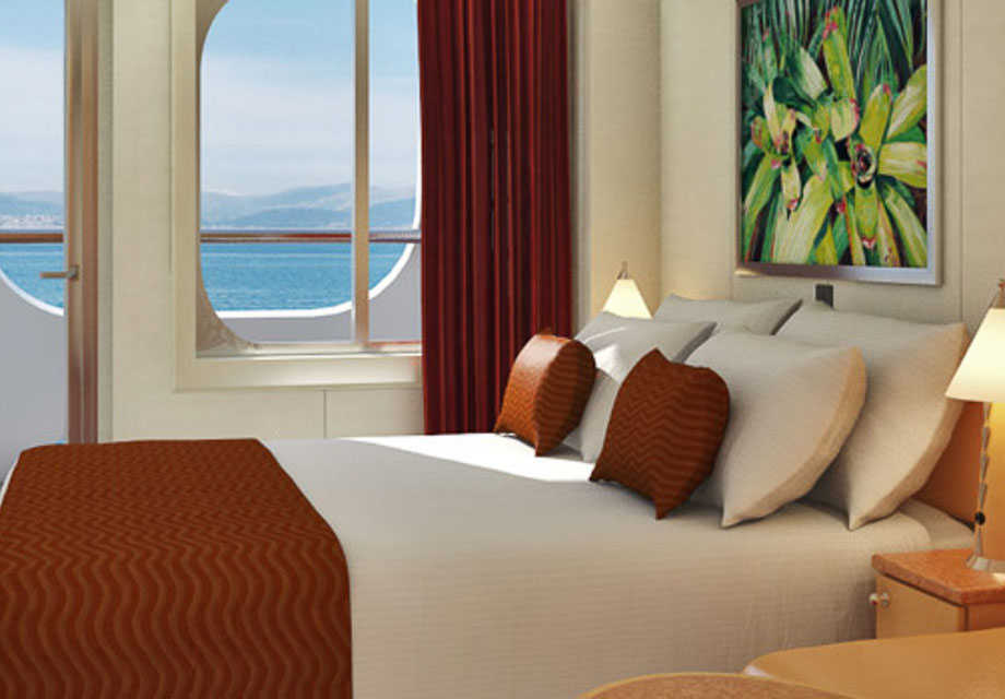 Carnival Dream - Rooms - Cove Balcony