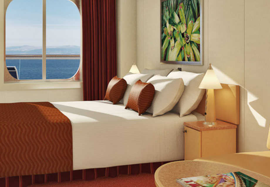 Carnival Dream - Rooms - Aft View Extended Balcony