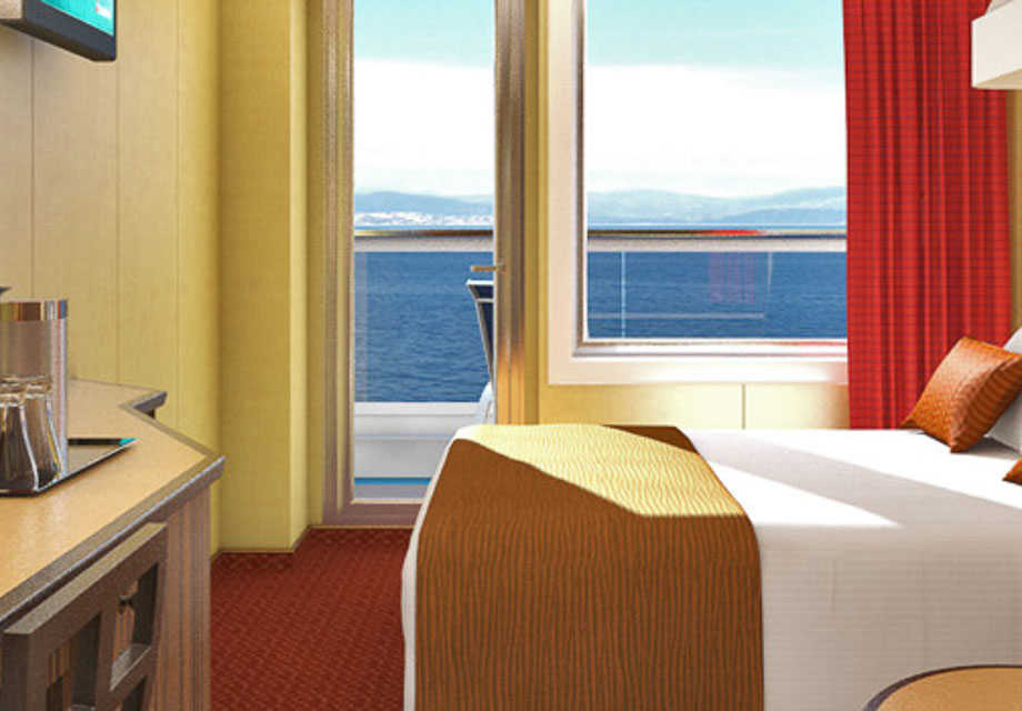 Carnival Dream - Rooms - Cloud 9 Spa Balcony