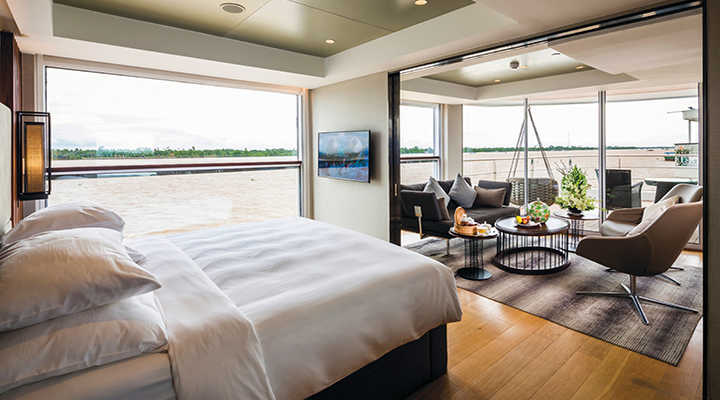 Biggest Suites on the Mekong