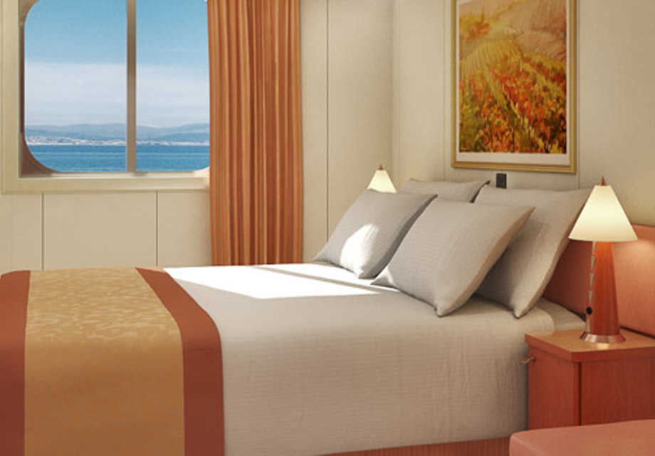 Carnival Glory - Rooms - Oceanview