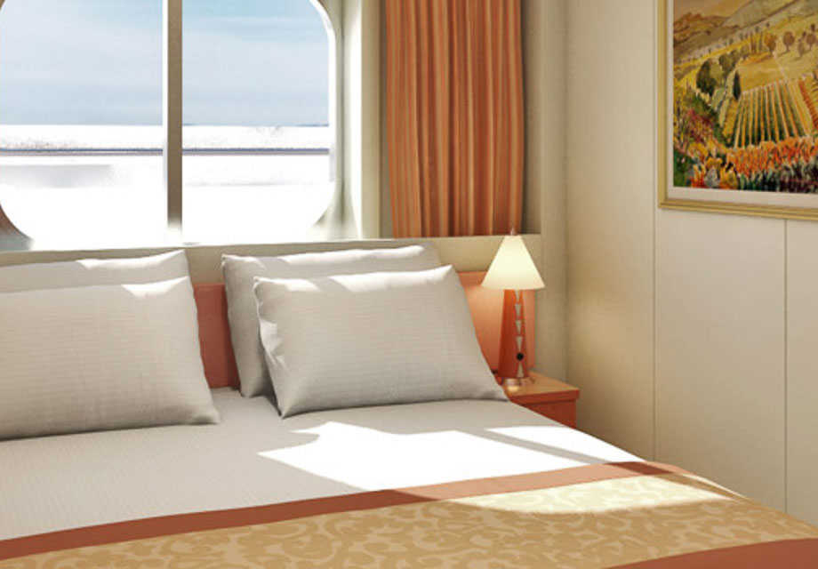 Carnival Liberty - Rooms - Interior with Picture Window