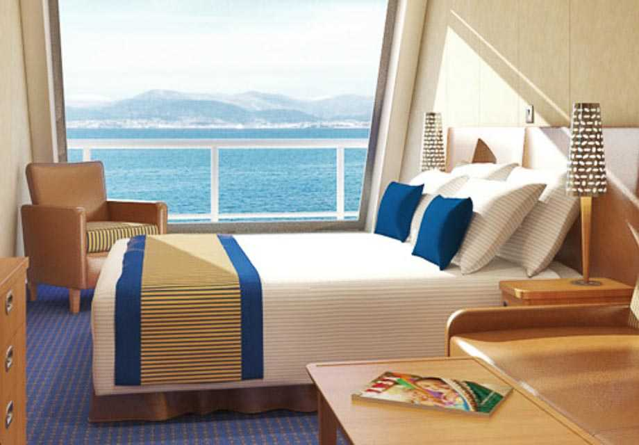 Carnival Liberty - Rooms - Scenic Oceanview