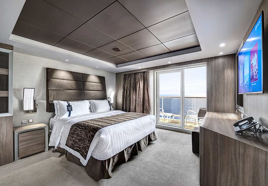Yacht Club Royal Suite bedroomuse