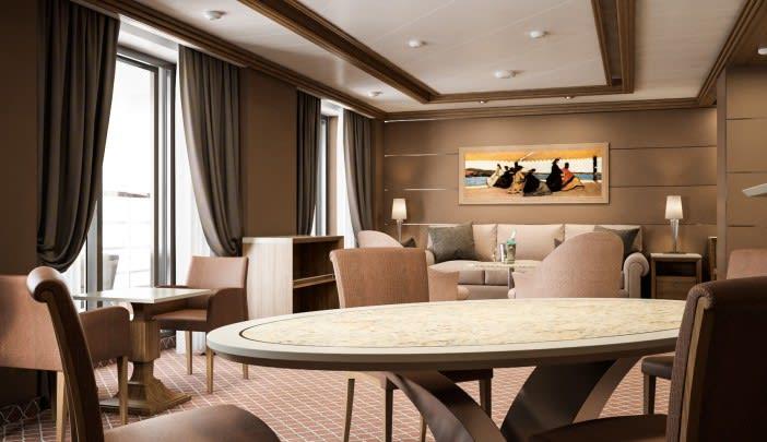 Royal Suite - Living area2