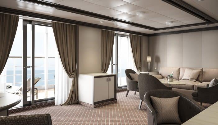 Silver Suite - Living area