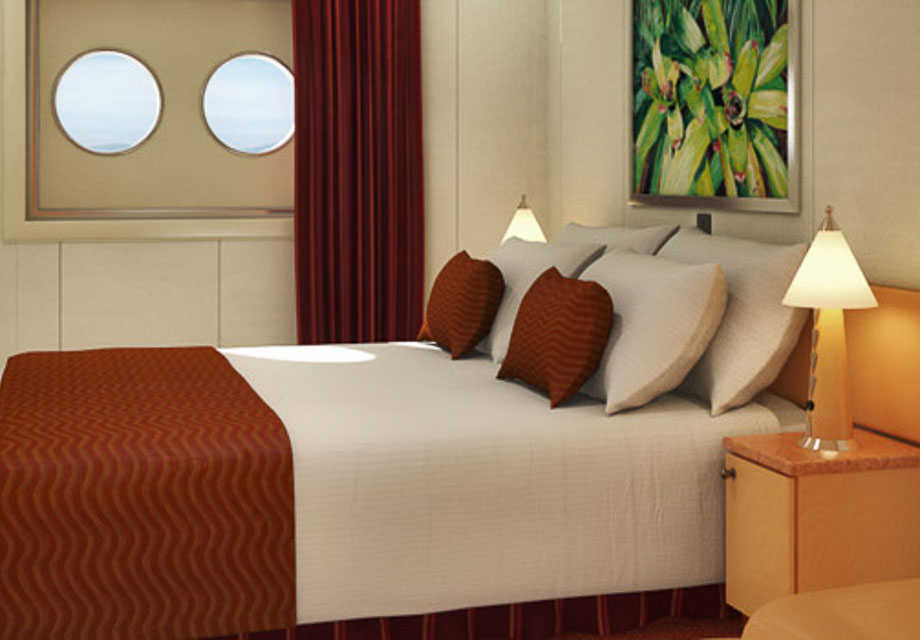 Carnival Magic - Rooms - Interior Upper & Lower (Porthole)