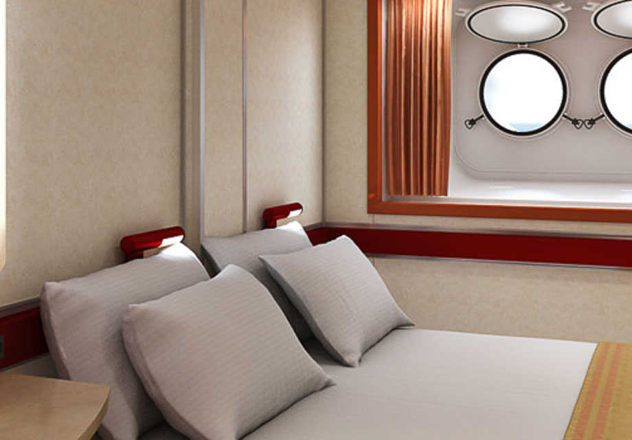 Carnival Sensation - Rooms - Porthole