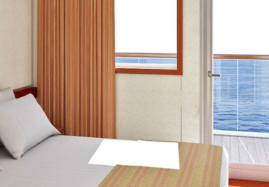 Carnival Sensation - Rooms - Balcony