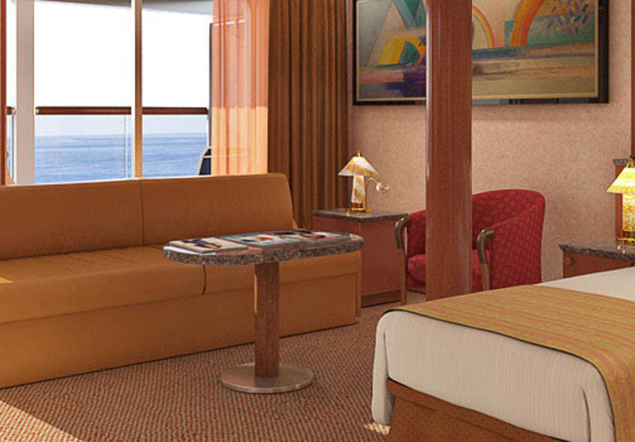 Carnival Sensation - Rooms - Grand Suite