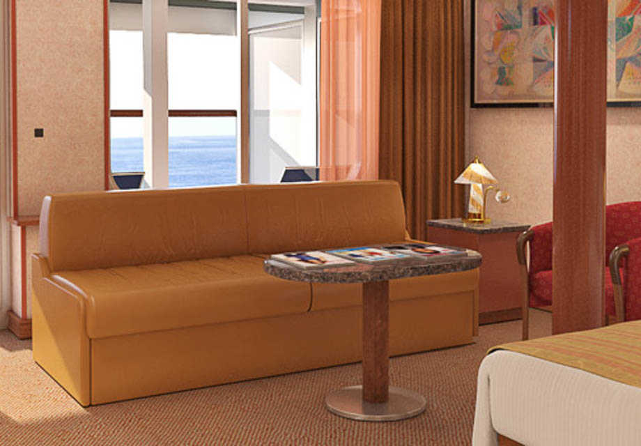 Carnival Sensation - Rooms - Grand Suite Extended Balcony