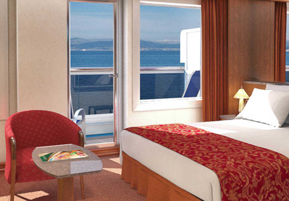 Carnival Victory - Rooms - Ocean Suite