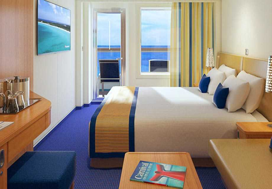 Carnival Vista - Rooms - Balcony
