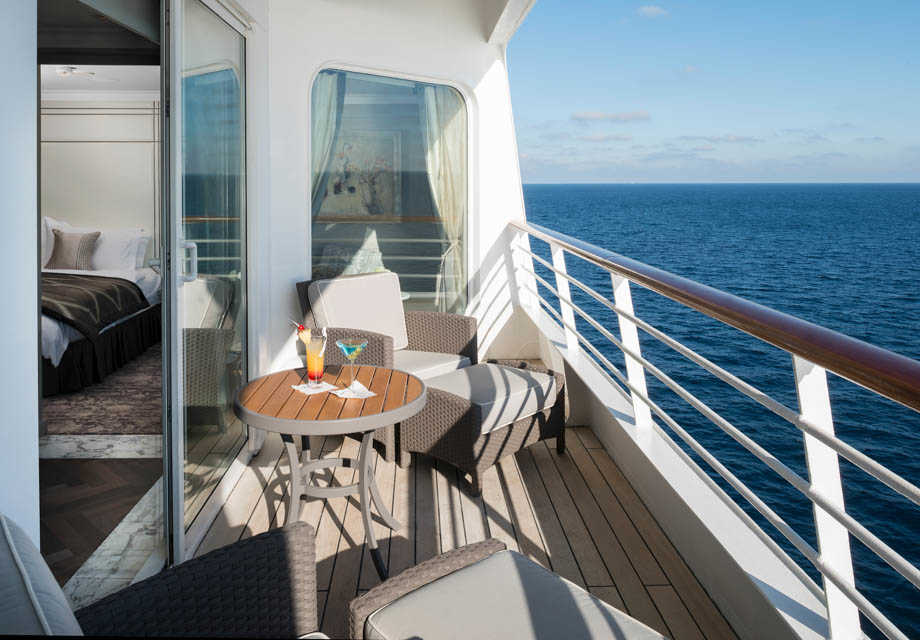 Crystal Serenity - Rooms - Crystal Penthouse - Veranda