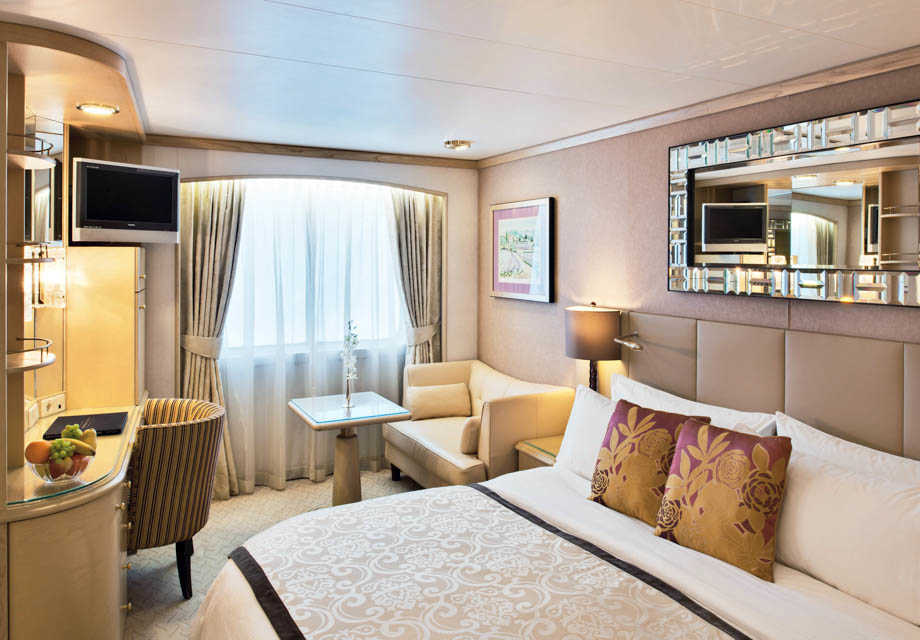 Crystal Symphony - Rooms - Deluxe Stateroom with Picture Window