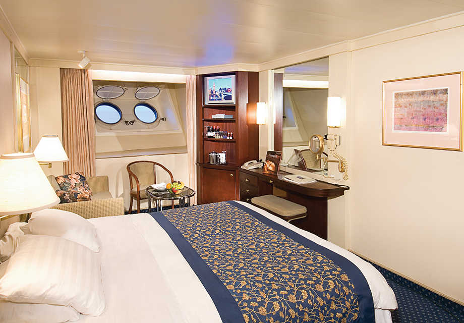 Large Oceanview Stateroom with Portholes