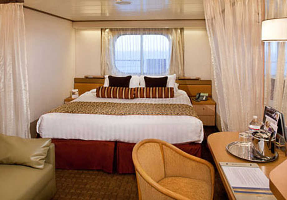 MS Amsterdam - Rooms - Oceanview Stateroom