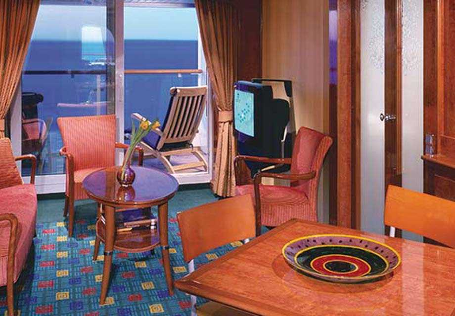 Norwegian Dawn - Rooms - 2-Bedroom Family Suite