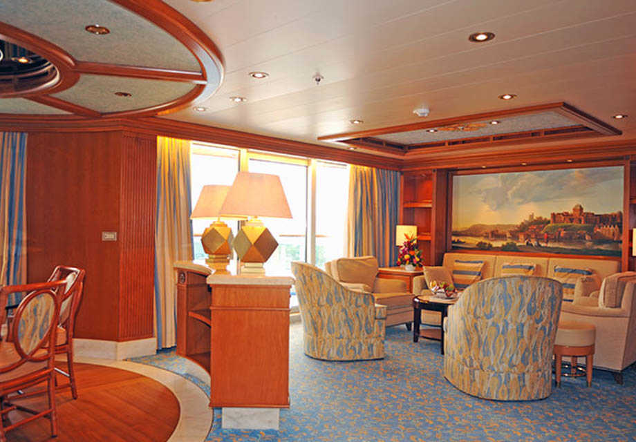 Caribbean Princess - Rooms - Grand Suite with Balcony