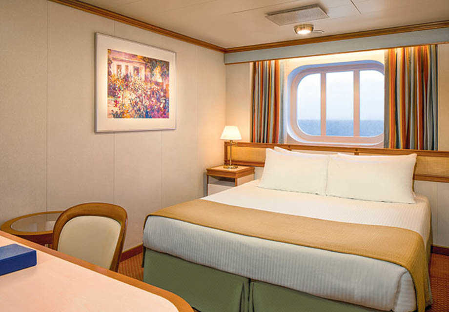 Coral Princess - Rooms - Oceanview & Premium Oceanview