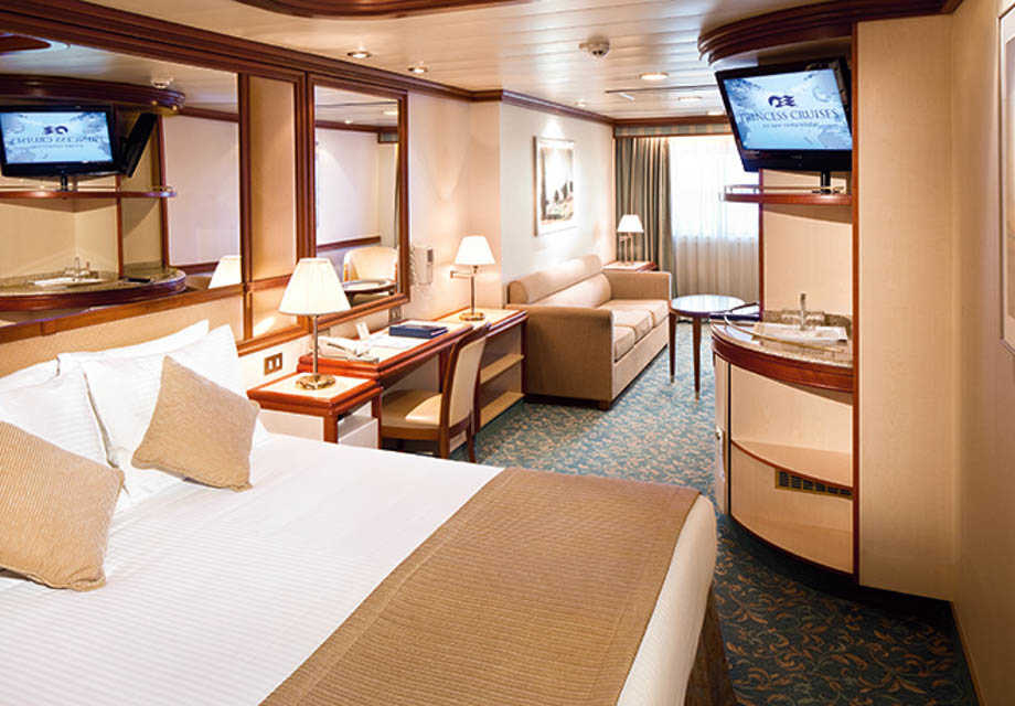 Coral Princess - Rooms - Mini Suite with  Window