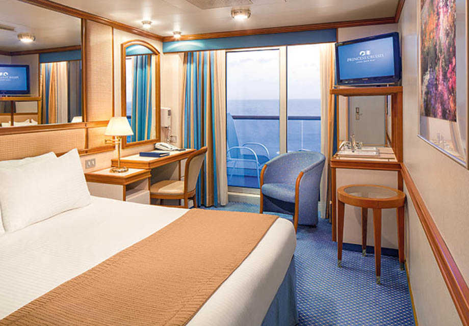 Crown Princess - Rooms - Balcony