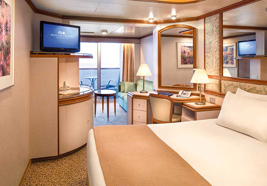Crown Princess - Rooms - Mini Suite with Balcony