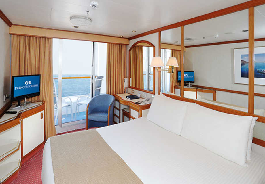 Dawn Princess - Rooms - Balcony