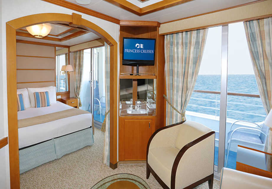 Dawn Princess - Rooms - Premium & Mini Suite with Balcony