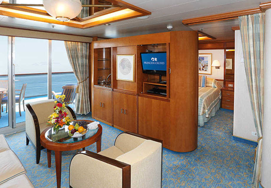 Dawn Princess - Rooms - Suite with Balcony