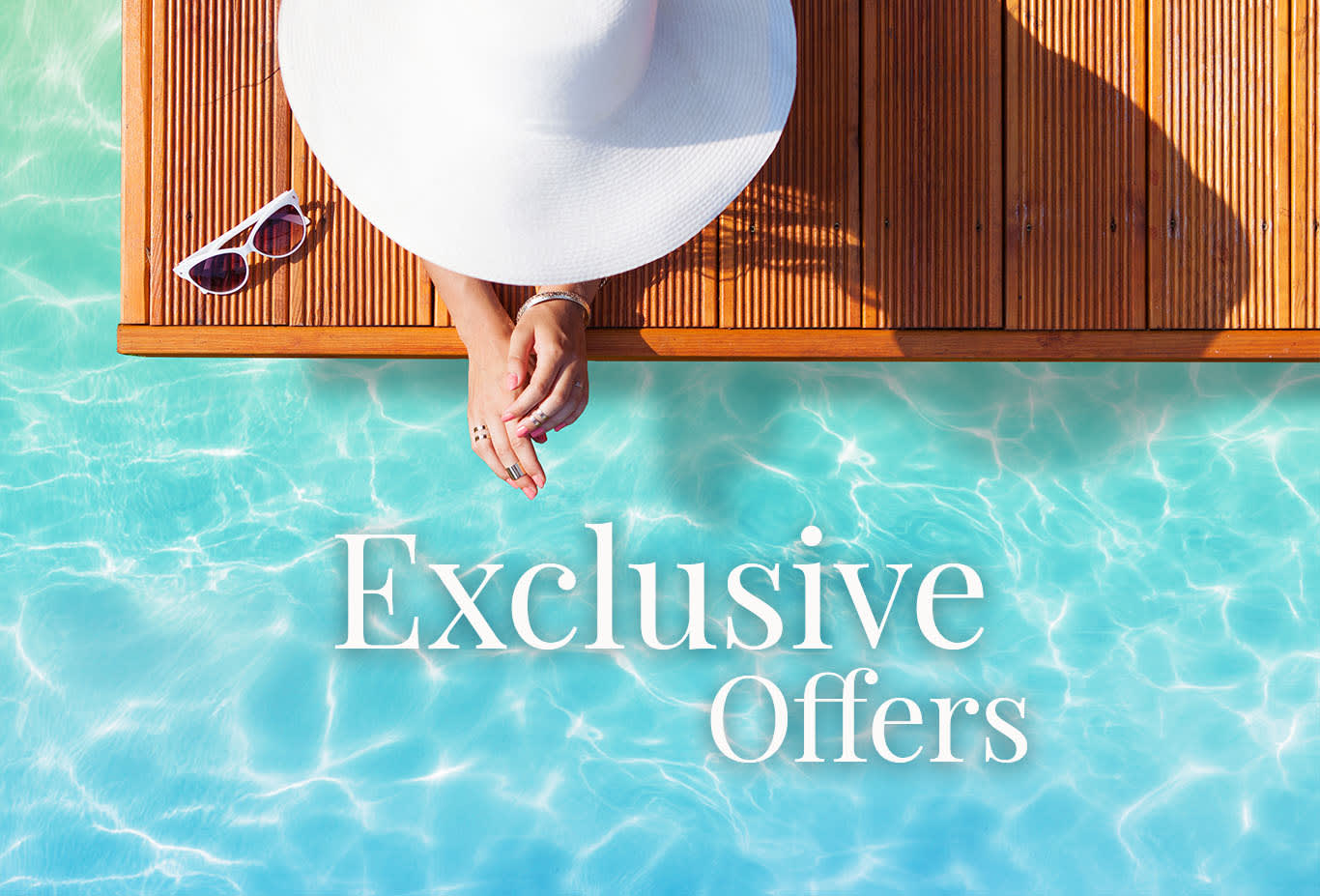 Exclusive offers, just for you
