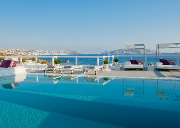Grace Mykonos, Mykonos, Pool View