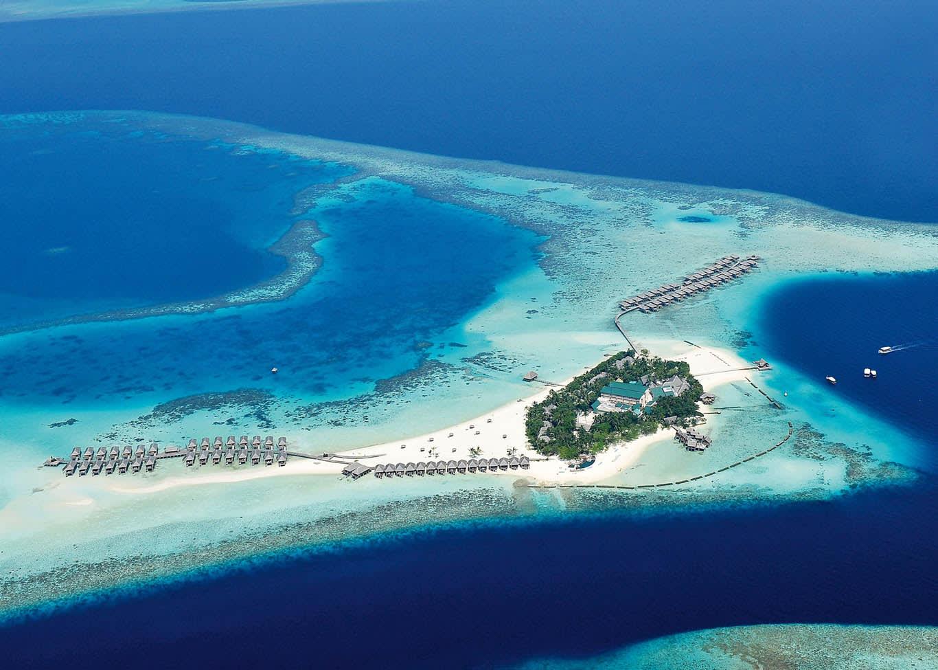 Constance Moofushi, Maldives, Aerial View