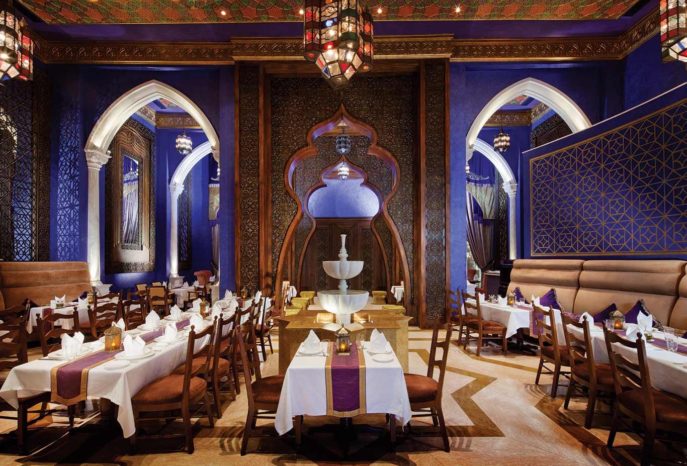 Al Nafoorah Restaurant - Jumeirah Zabeel Saray