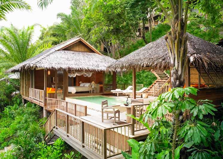 Beachfront Pool Villa @ Six Senses Samui