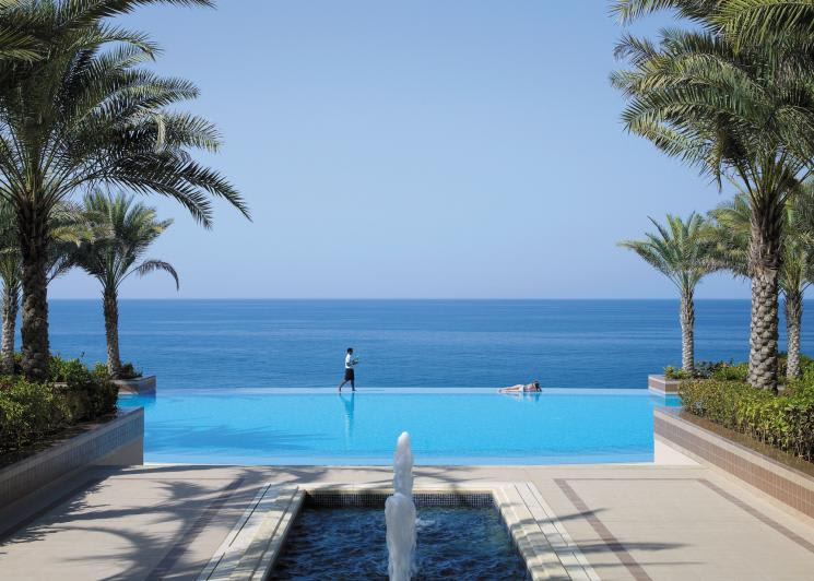 Shangri-La's Barr Al Jissah Resort & Spa - Al Husn, Muscat, View from Al Husn Courtyard