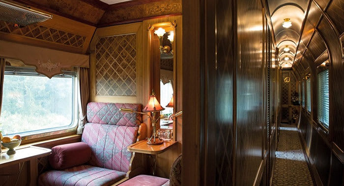 Carriage on the Orient Express