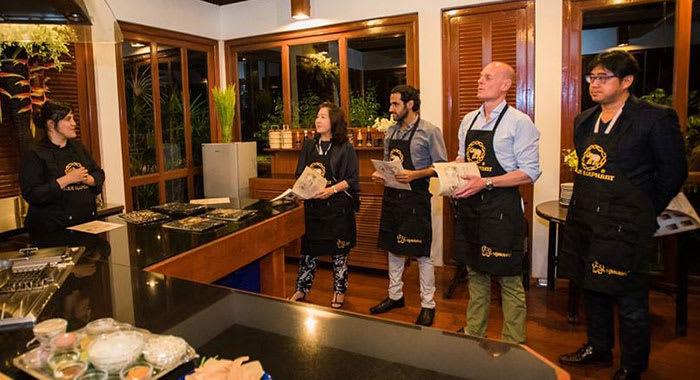 Sample the Thai cuisine