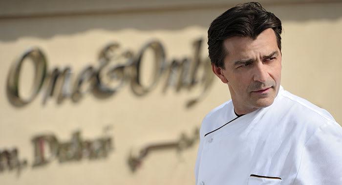 Yannick Alleno the three star Michelin chef