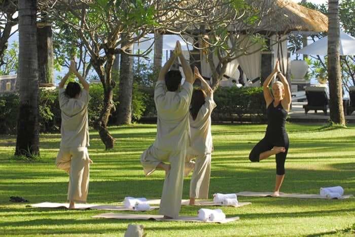 Spa Village Resort yoga