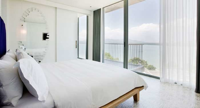 COMO's Point Yamu Bay Suite Bedroom