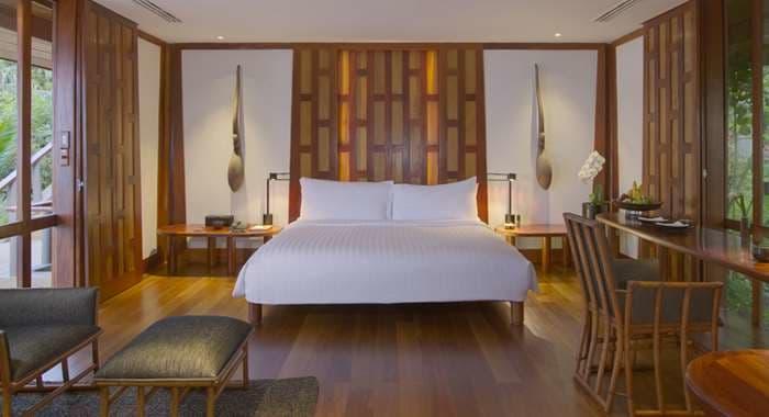 Amanpuri Pavilion Bedroom