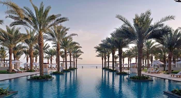 Al Bustan Palace, a Ritz Carlton Hotel Swimming Pool