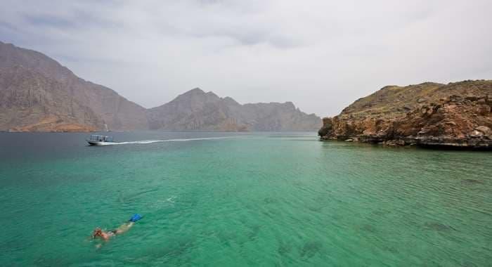 Snorkelling in Oman